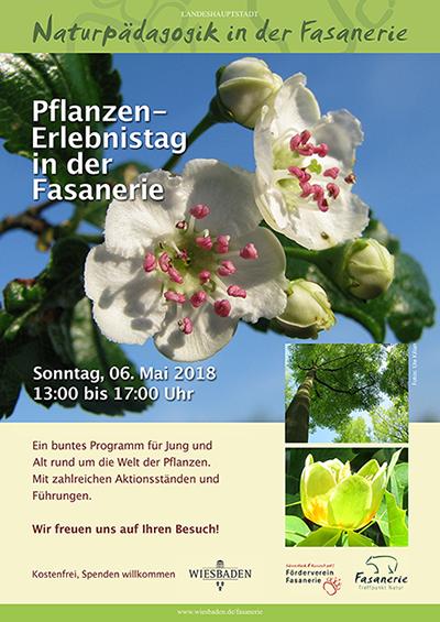 """Plakat """"Tag der Pflanzen"""""""